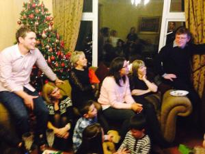 Family, Christmas, Skype, Irish emigration, Australia
